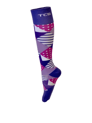 Compression Socks Ladies- Grape