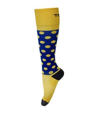 Compression Socks Ladies- Lemon Drop