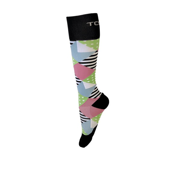 Compression Socks Ladies- WaterMelon