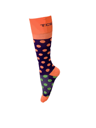 Compression Socks Ladies- Tootie Fruitie