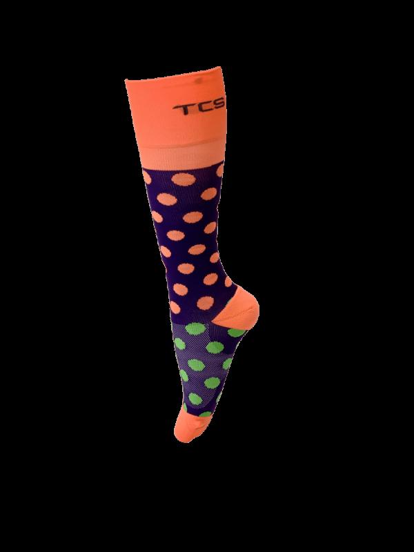 Compression Socks Ladies- Tootie Fruitie