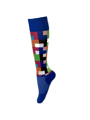 Compression Socks Ladies- Moody Blue