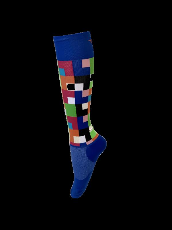 Compression Socks Ladies- Moody Blue