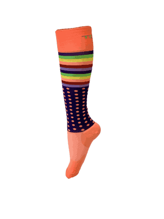 Compression Socks Ladies- Disco Nights