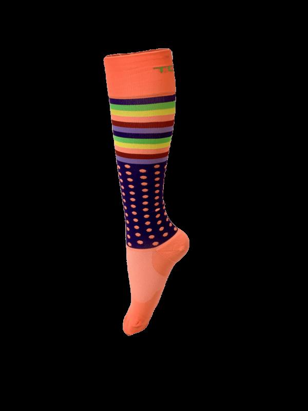 Compression Socks Ladies- Disco Nights