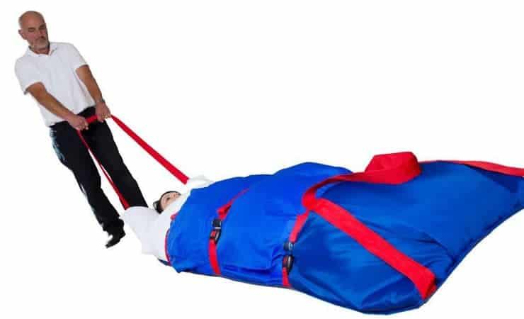 Ski Slide Evacuation Pad